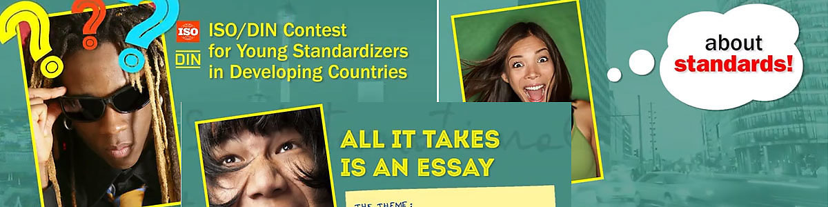 Kenyan wins ISO/DIN essay contest for young standardizers in developing countries