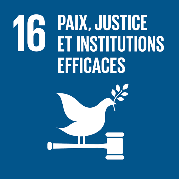 Paix, justice et institutions efficaces