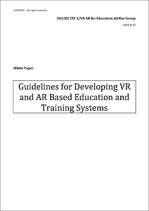Guidelines for Developing VR and AR Based Education and Training Systems