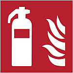 Graphical symbol: Fire extinguisher