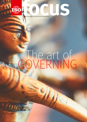 Cover page:  ISOfocus November/December 2017 - The art of governing