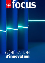 Laser Scanning Zigzag Shaped Paper in Deep Blue Tone.