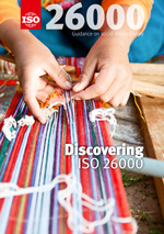 Cover page: Social responsibility - Discovering ISO 26000