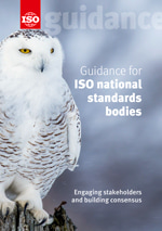 Cover page: Guidance for ISO national standards bodies