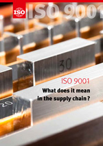 Титульный лист: ISO 9001 - What does it mean in the supply chain?
