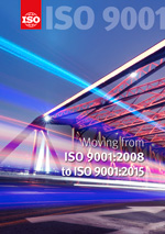 Титульный лист: Moving from ISO 9001:2008 to ISO 9001:2015