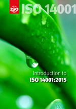Cover page: Introduction to ISO 14001:2015