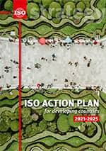 Cover page: ISO Action Plan for developing countries 2021-2025