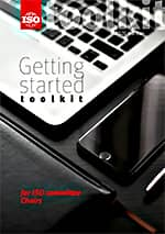 Cover page: Getting started toolkit for ISO committee Chairs