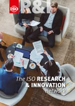 Титульный лист: The ISO Research and Innovation Network