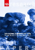 Титульный лист: International Standards and Trade - What does the research say?