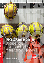 Титульный лист: ISO 45001:2018 - Occupational health and safety management systems - A practical guide for small organizations